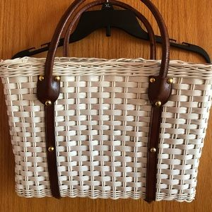 Vintage basket purse 👜